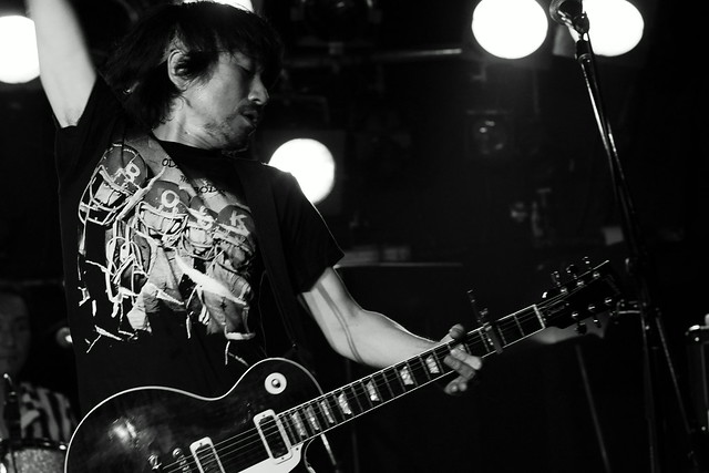THE ELECTRIC EEL live at ShowBoat, Tokyo, 27 Jun 2013. 139
