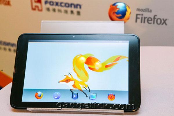 Планшеты с Firefox OS готовы взять старт