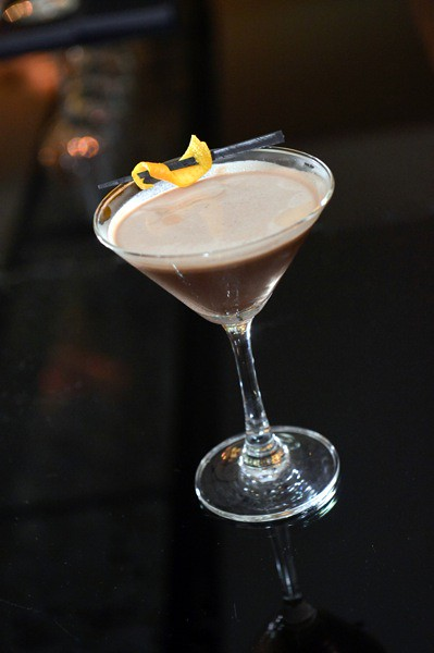 Sensational Cocktail (made with Häagen-Dazs Secret Sensations Chocolate Fondant)