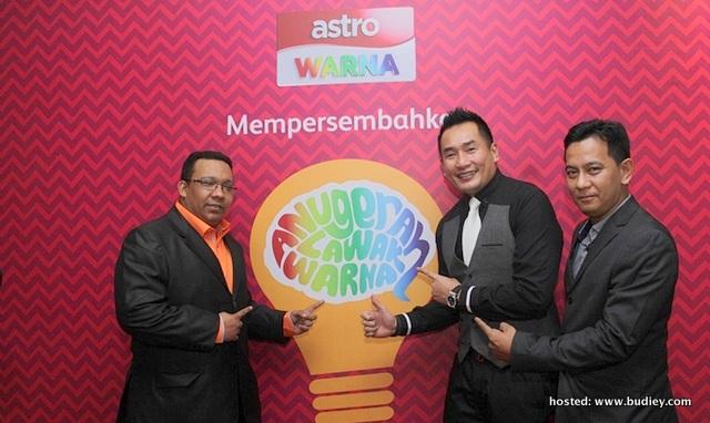 Senarai Nama Finalis Anugerah Lawak Warna 2013