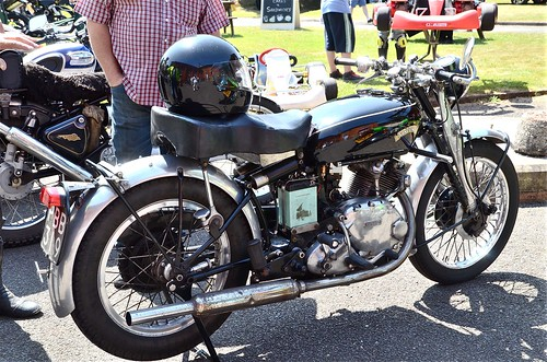 Mill Meece Rally -  Vincent Single