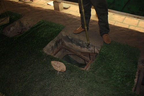 a trap around the Cu Chi tunnels