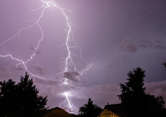 Lightning from 7/23