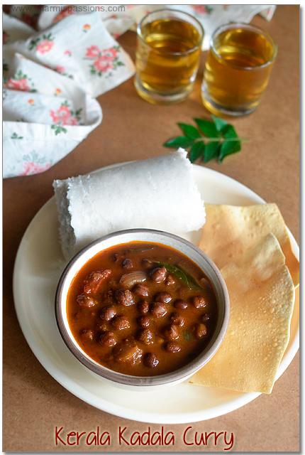 Kerala Kadala Curry Recipe