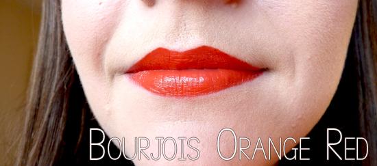 Bourjois red lips