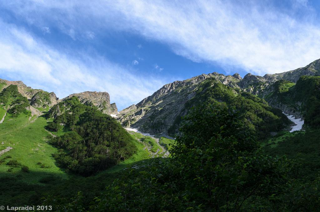 20130803 穂高岳