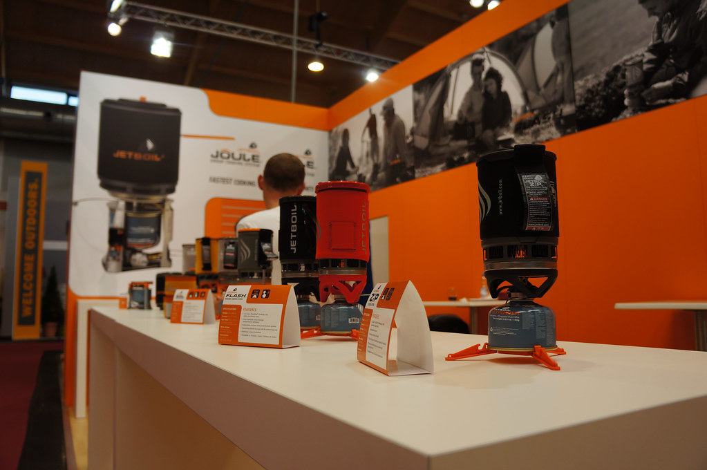 Jetboil booth