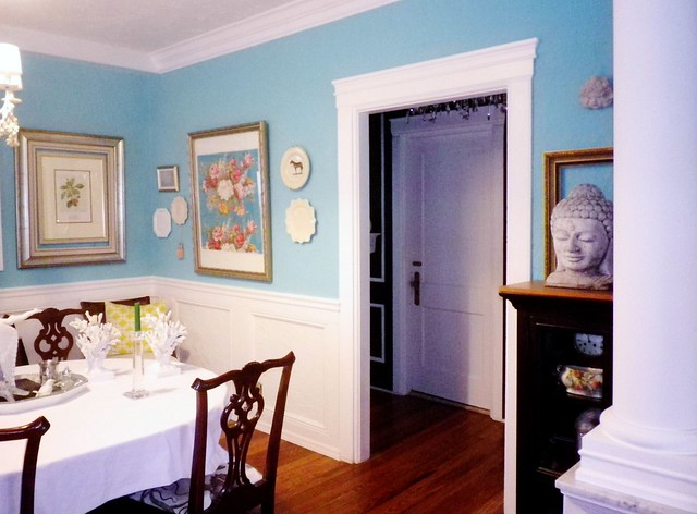 Tiffany blue dining room flickr photo sharing for Makeup by tiffany d dining room