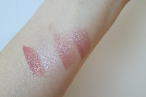 L'Oreal TIFF Collection lipstick swatches