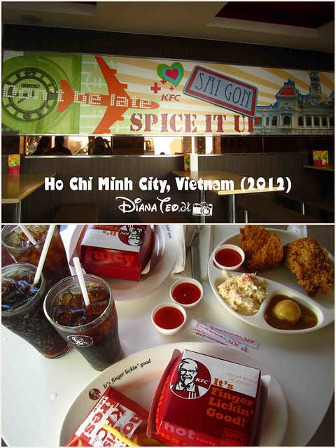 Day 6 - KFC in Ho Chi Minh City