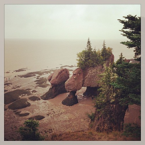 Hopewell Rocks-Bay of Fundy. #epicroadtrip