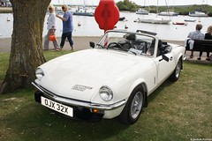 automobile(1.0), vehicle(1.0), performance car(1.0), triumph spitfire(1.0), antique car(1.0), land vehicle(1.0), convertible(1.0), sports car(1.0),