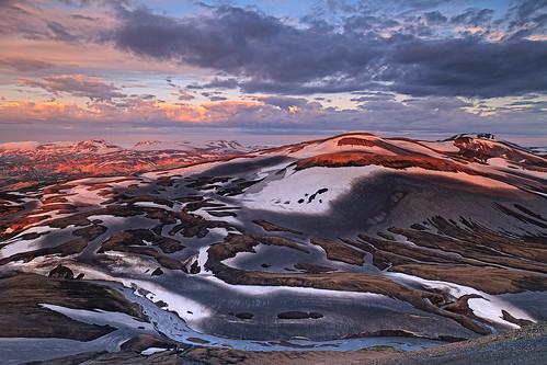 mountain nature iceland laugavegur mt reserve hut hrafn landmannalaugar hrafntinnusker laugavegurinn ijsland fjallabak sodull