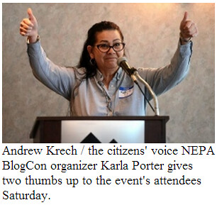 Bloggers unite NEPABlogCon News Citizens  Voice