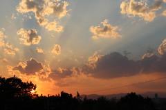 聖ヶ丘の日没