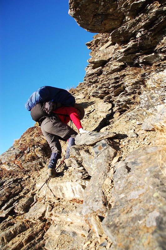 攀登無明山西峰 7