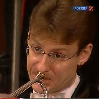 Ed Snowden? - trumpeter closeup