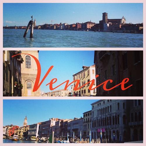 I've arrived! #Venice #Italy #travel