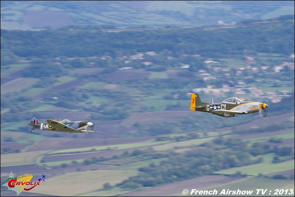 Replique Spitfire P-51 Mustang Focke Wulfe MM Quincy et Wim van den Brand