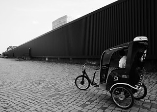 Berlin, Juni 2013: ein Event, ganz abgelegen.