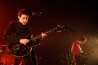Photo concert chanteur Miles Kane