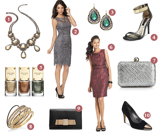 Macy's x ShopStyle Holiday Spotlight: Cocktail Party Sparkle