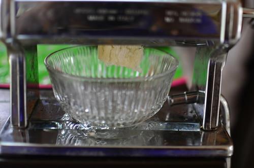 Juicing sugarcane in my pasta dough maker
