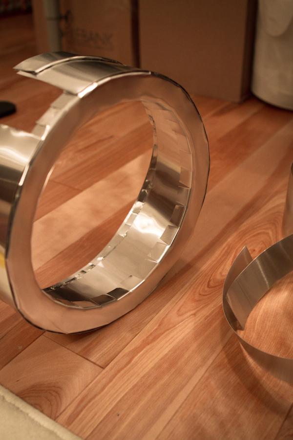 metal goggle