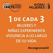 Infografico: 1 de cada 3 mujeres y niñas experimenta violencia a lo largo de su vida