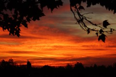 Klaus Naujok posted a photo:	I almost missed it this morning as it only lasted for about 15 minutes. Great sunrise colors.