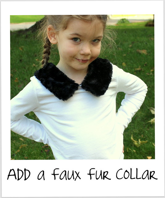 Add a Faux Fur Collar