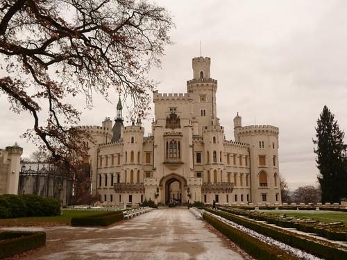 Castillo de Hluboká (Bohemia del Sur, República Checa)
