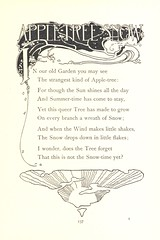 Image taken from page 141 of 'Red Apple and Silver Bells. A book of verse for children ... Illustrated by A. B. Woodward'