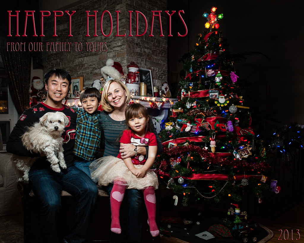 Happy Holidays From the Hur Family 2013