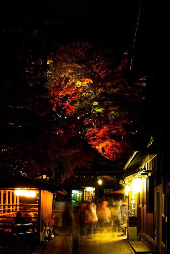2013楓葉-嵐山常寂光寺+夜拜清水寺