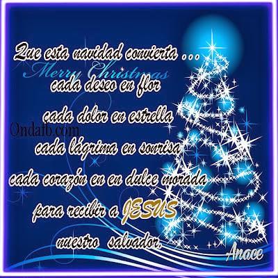 5 postales de navidad con frases bonitas para el facebook - Frases de felicitacion por navidad ...