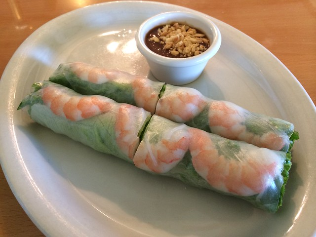 Fresh spring rolls - Basil Leaf Asian Cuisine