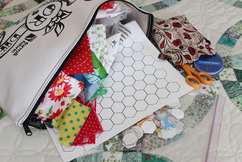 Scraps for hexagons