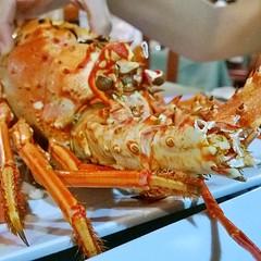 crab(0.0), caridean shrimp(0.0), lobster(0.0), fish(0.0), food(0.0), animal(1.0), crustacean(1.0), seafood(1.0), invertebrate(1.0), scampi(1.0), dish(1.0), cuisine(1.0),