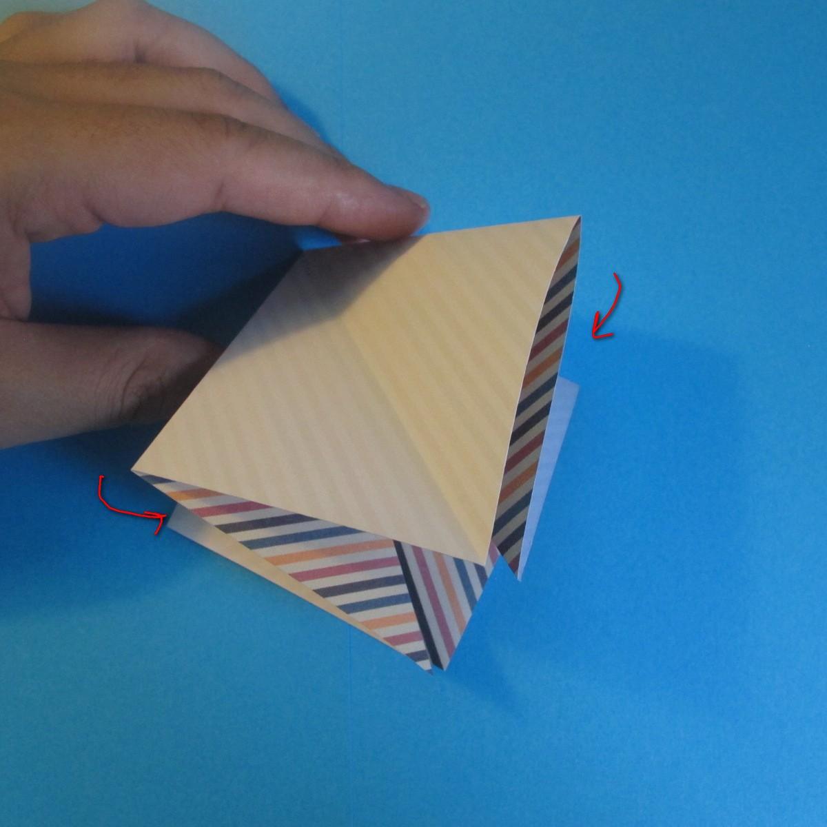 วิธีการพับกระดาษเป็นโบว์หูกระต่าย 004
