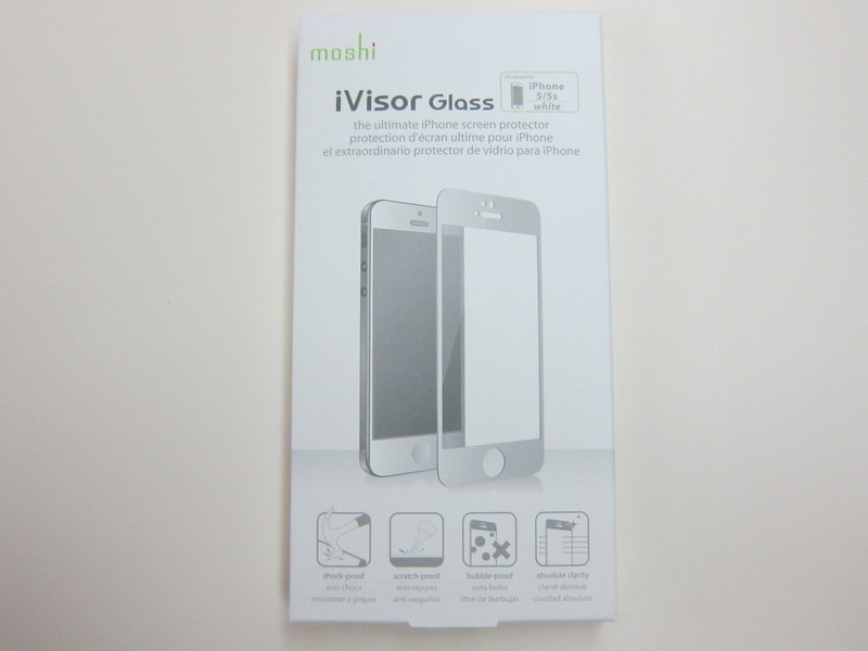 Moshi iVisor Glass - Box Front