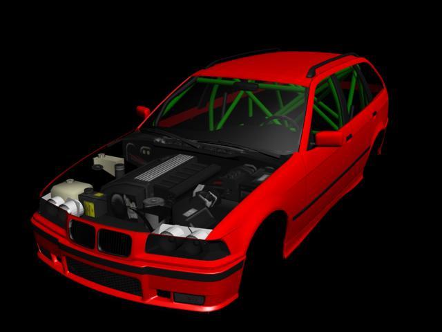 kS Drift Mod - BMW E36 Touring | Baljit Singh | Flickr