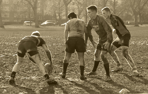 Rugby in Hyde Park