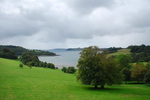 Cornwall的海岸線