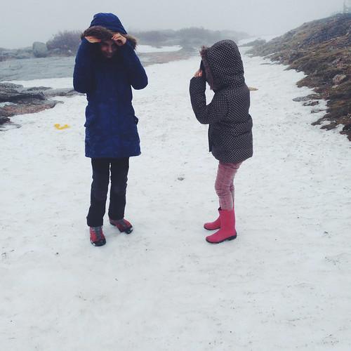 a lã e a neve
