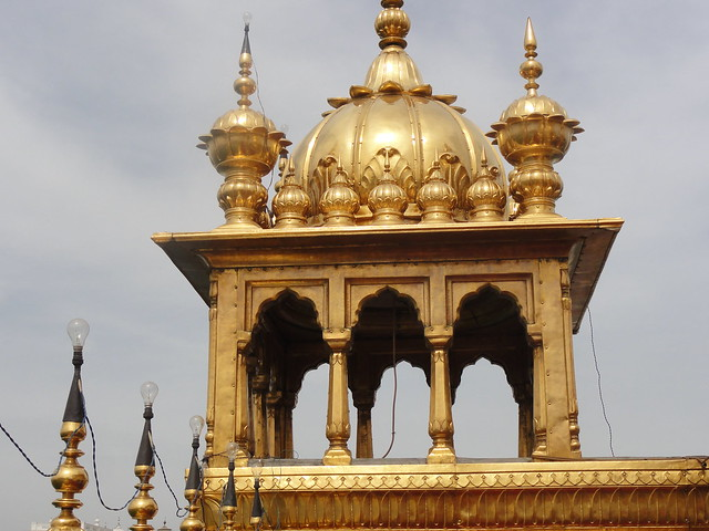 corner structures at Harmandir Sahib, Amritsar