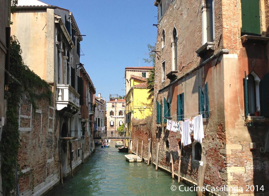 Seitenkanal Venedig