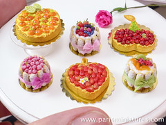 Miniature Charlottes and Tarts - French Desserts i…