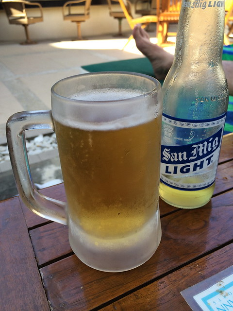San Miguel light beer - Christina's