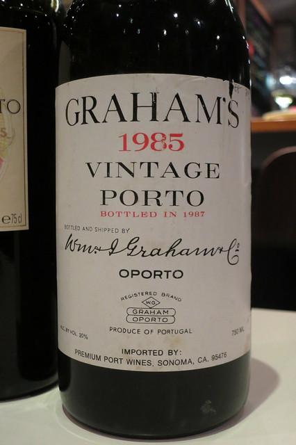 Graham's 1985 Vintage Port